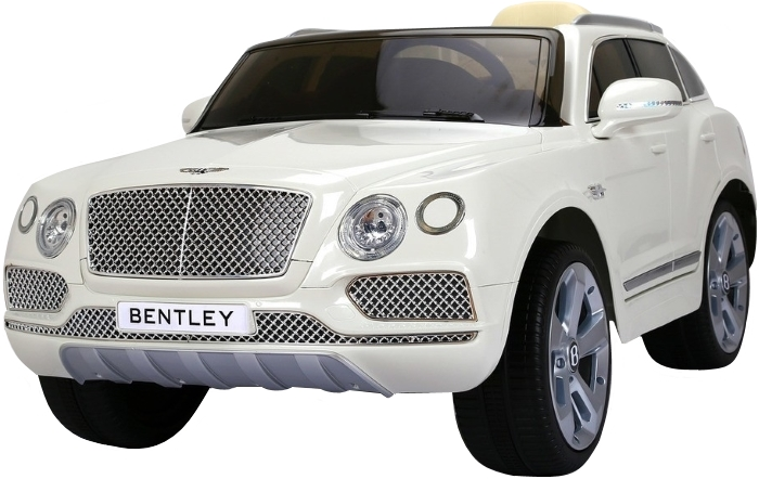 Masinuta electrica copii BENTLEY Alb