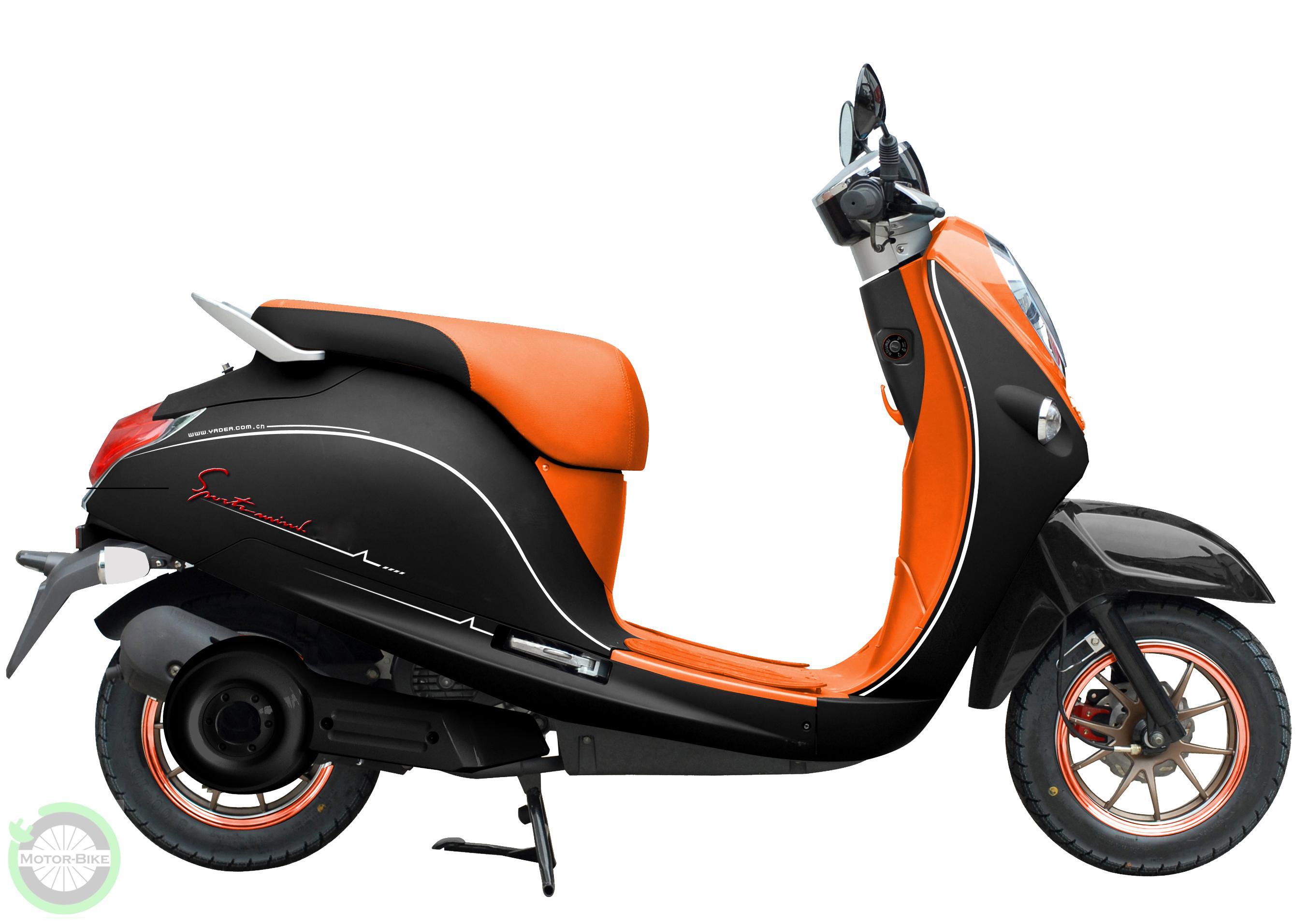 Scuter Electric Zt28 Malibu Orange Pret 5 350 Lei