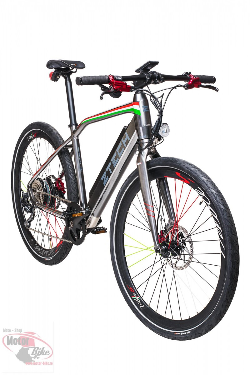 Bicicleta Electrica ZT85 RAPID (700C) GREY