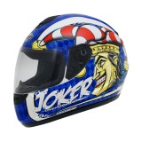 Casca moto MT THUNDER JOKER blue