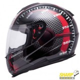Casca moto MT THUNDER LIGHTNING black