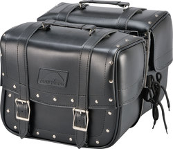 Genti Chopper IRON HORSE SADDLEBAGS 17L