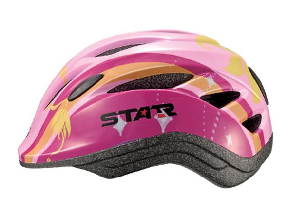 Casca bicicleta copii DHS STAR GIRL B2-11 S2-1