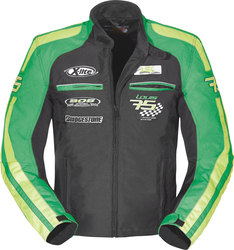 Geaca moto LOUIS LOUIS 75 TEAMJACKET GREEN