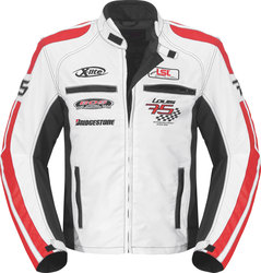 Geaca moto LOUIS LOUIS 75 TEAMJACKET WHITE