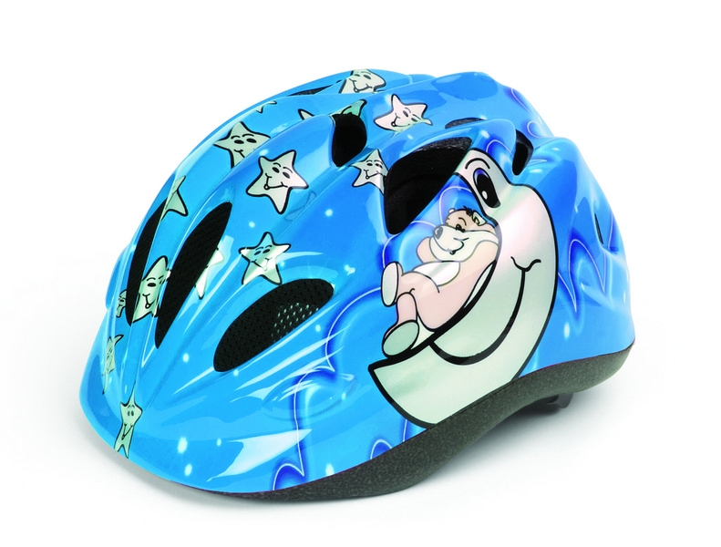 Casca copii POLISPORT SLEEPY BEAR BLUE