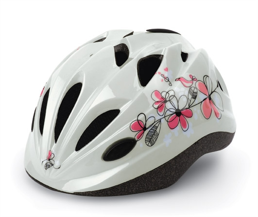 Casca bicicleta copii POLISPORT KID FLOWERS