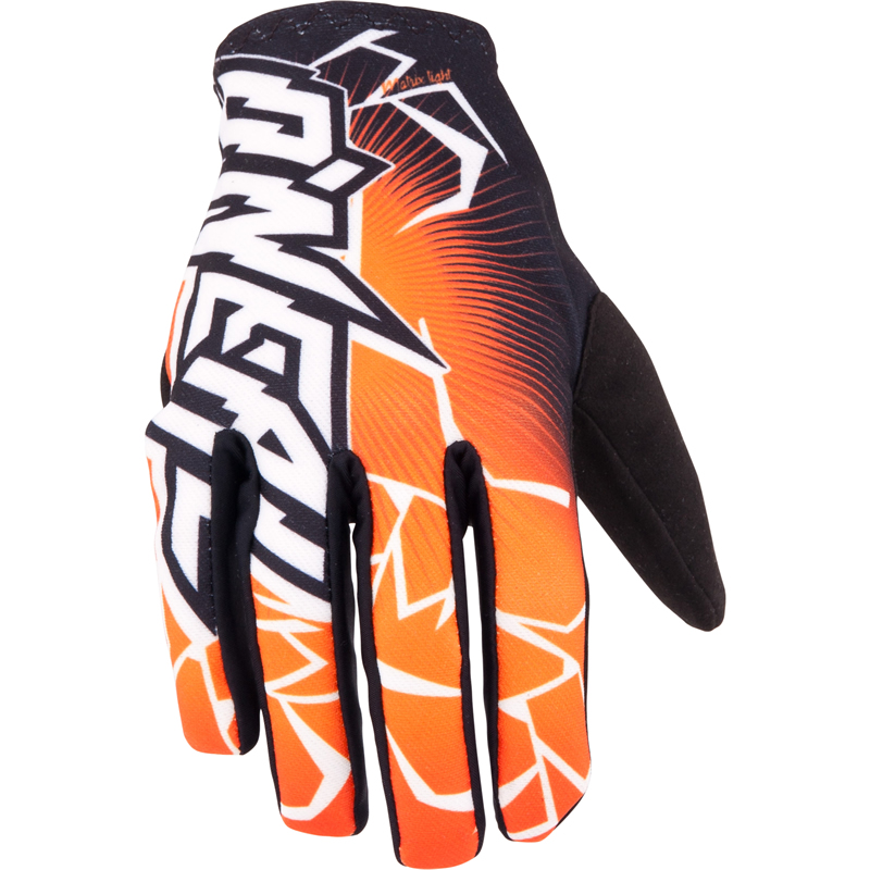 Manusi moto O'NEAL MATRIX GLOVE BLACK/ORANGE