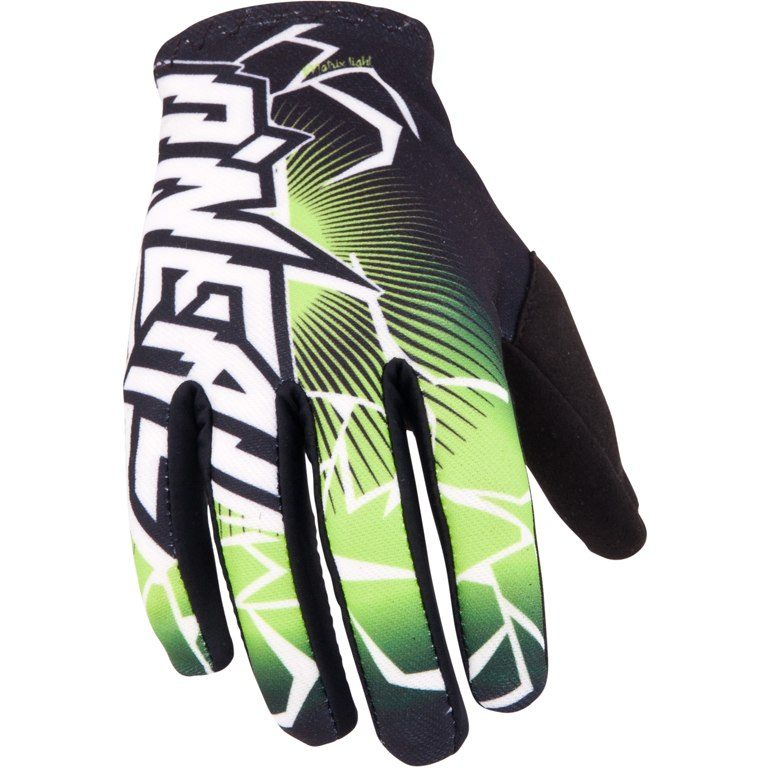 Manusi moto O'NEAL MATRIX GLOVE BLACK/GREEN