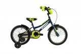 Bicicleta copii DHS 1601 KID RACER 1V BLUE