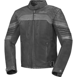 Geaca moto piele CAFE RACER VINTAGE LEATHER JACKET