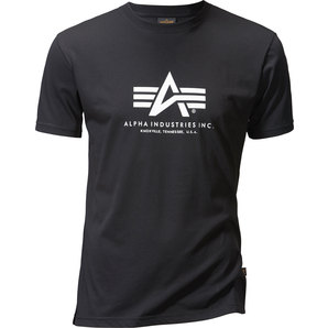 Tricou ALPHA INDUSTRIES T-SHIRT BASIC BLACK