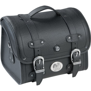 Genti Chopper H&B SMALLBAG LIBERTY LEATHER, BLACK 25L