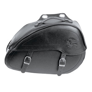 Genti Chopper HELD DENVER SADDLEBAGS BLACK FOR CLICK SYSTEM 20L X 2 BUC