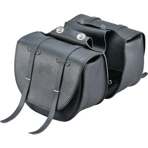 Genti Chopper HELD SADDLEBAG TEXAS BLACK FOR CLICK SYSTEM 20L X 2 BUC