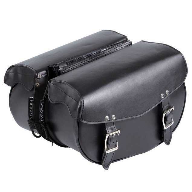 Genti Chopper HIGHWAY 1 SADDLEBAGS ARTIFICIAL LEATHER 17L