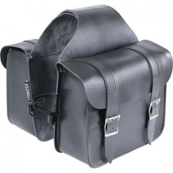 Genti Chopper HIGHWAY 1 SADDLEBAGS BUFFALO LEATHER 14L