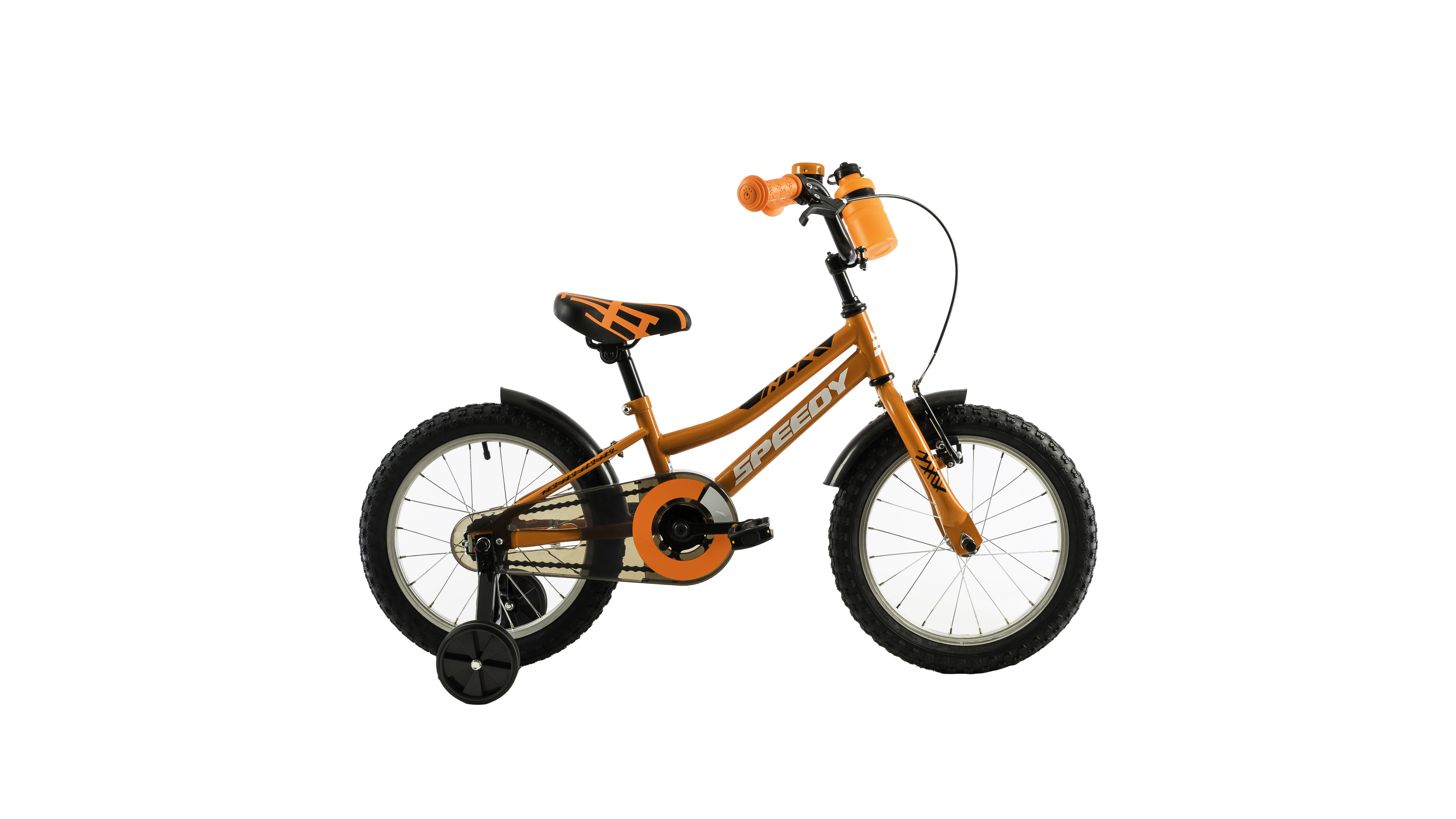 Bicicleta copii DHS 1601 KID RACER 1V ORANGE