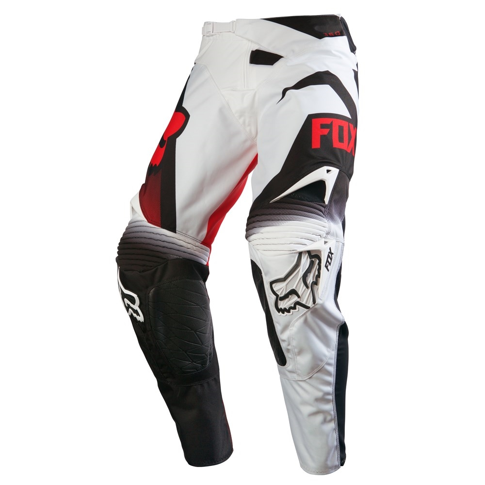 Pantaloni FOX 360 SHIV MX16 BLACK WHITE