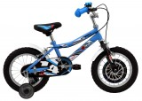 Bicicleta copii DHS-1403 SPEED BLUE