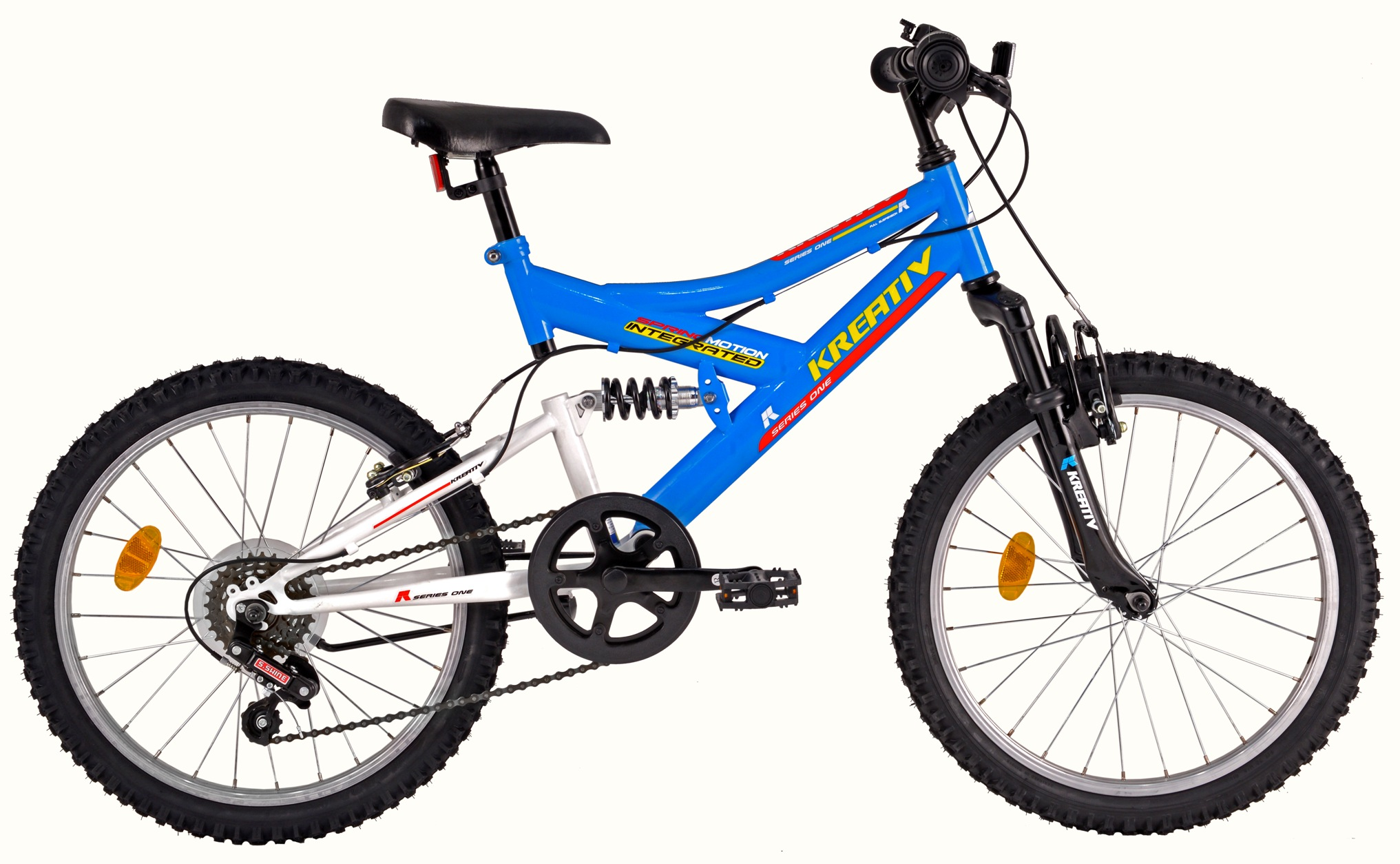 Bicicleta copii DHS 2041 ROCKET BLUE