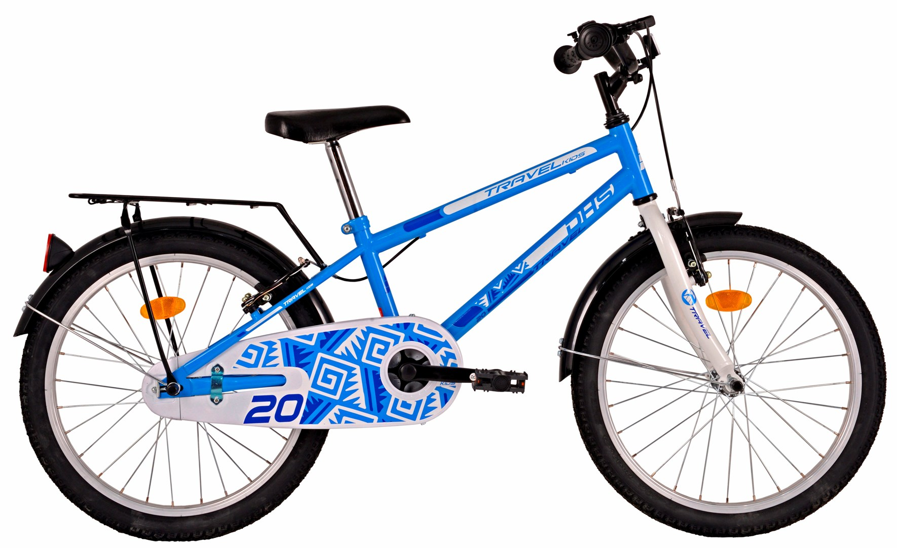Bicicleta copii DHS-2003 TRAVEL BLUE