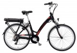 Bicicleta Electrica ZT76 HOLIDAY Li-Ion NEGRU