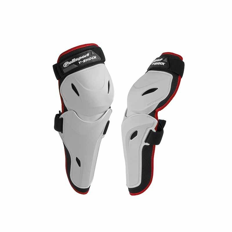 Protectie cot POLISPORT Y-SHOCK ADULT WHITE L/XL