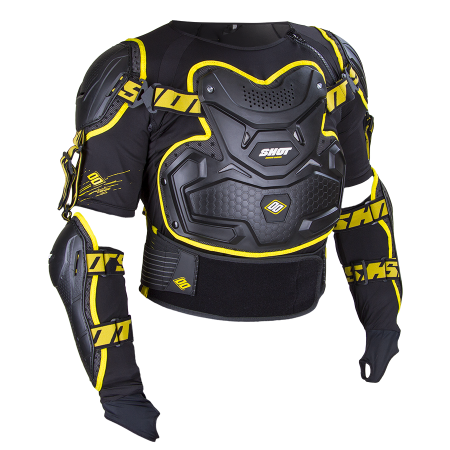 Protectie moto SHOT INTERCEPTOR BLACK-YELLOW