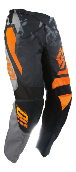 Pantaloni SHOT MX/DEVO SQUAD GREY-NEON ORANGE
