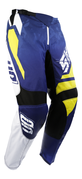 Pantaloni SHOT MX/DEVO SQUAD BLUE-YELLOW