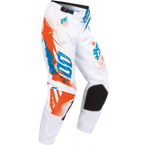 Pantaloni SHOT CROSS DEVO WHITE ORANGE BLUE
