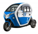 MOPED CAR Electric ZT95 BLUE 3 roti