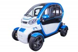 MOPED CAR Electric ZT96 BLUE 4 roti