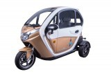 MOPED CAR Electric ZT95 CREM 3 roti