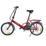 Bicicleta Electrica Pliabila NV Smart City T2009F Red