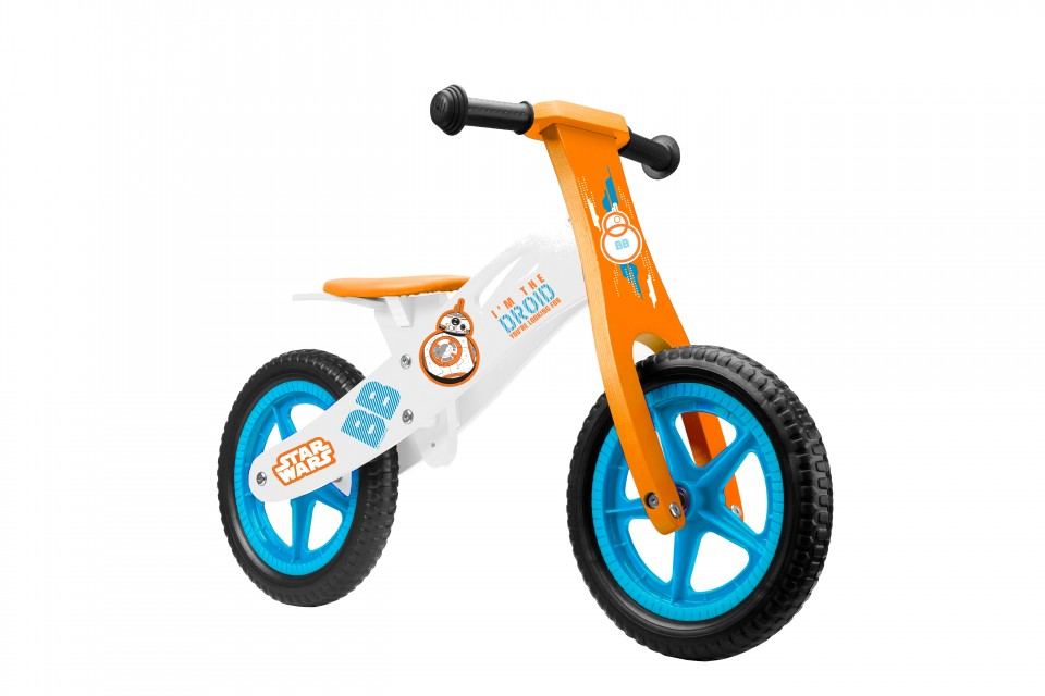 Bicicleta copii fara pedale Seven-Star Wars, Multicolor