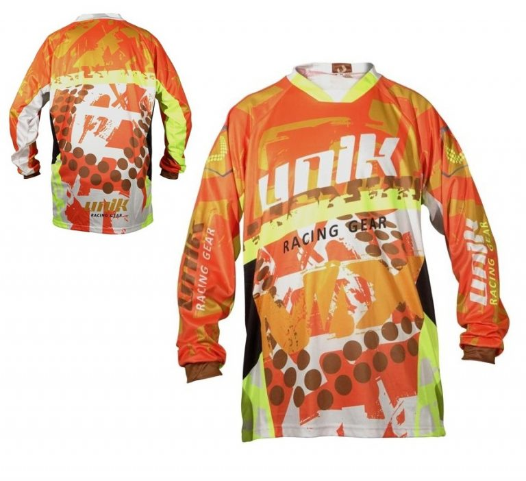 Tricou cross-enduro Unik MX01 orange