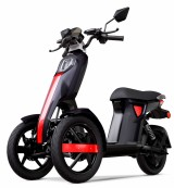 MOPED Electric ZT98 ITANGO BLACK 3 roti