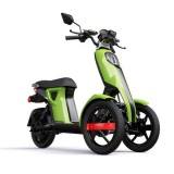 MOPED Electric ZT98 ITANGO GREEN 3 roti
