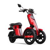 MOPED Electric ZT98 ITANGO RED 3 roti