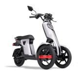 MOPED Electric ZT98 ITANGO ALB 3 roti