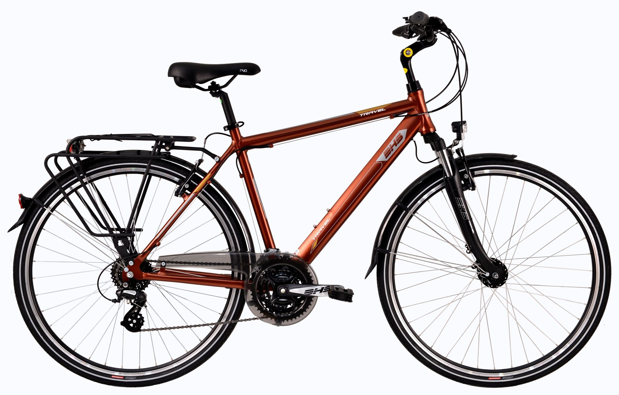 Bicicleta DHS 2857 TRAVEL MARO