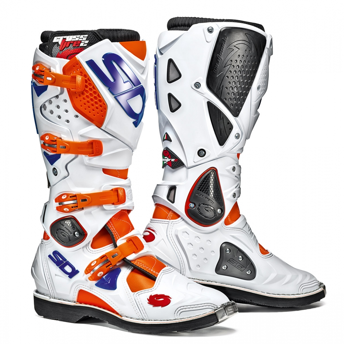 Cizme Moto Offroad SIDI CrossFire2 Orange