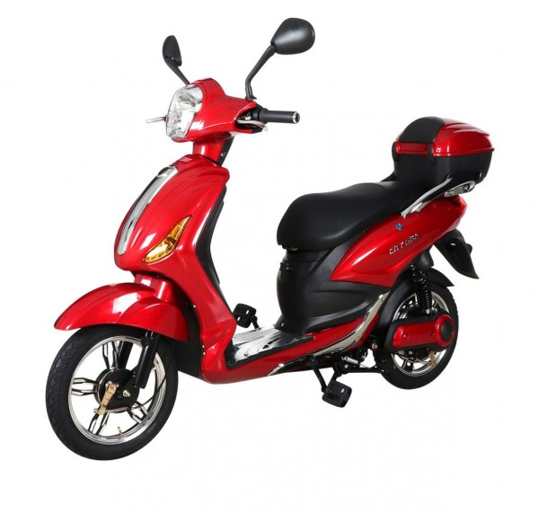 Scuter Electric RKS CITY BIKE RED