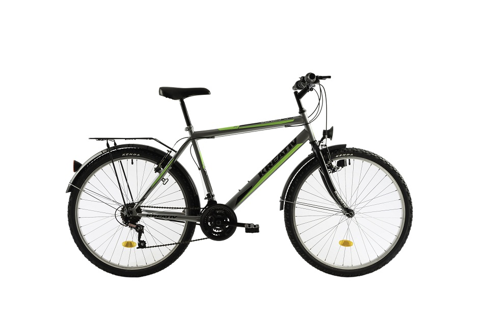 Bicicleta KREATIV 2613 CITY LIFEJOY K 18V GRI