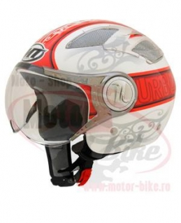 Casca scuter MT URBAN red