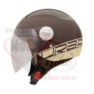 Casca scuter MT URBAN II brown