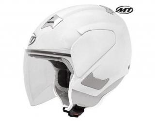 Casca scuter MT CITY SEVEN WHITE