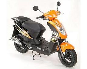 Scuter AGILITY 125 orange